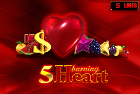 5 Burning Heart | Slot machines EuroGame