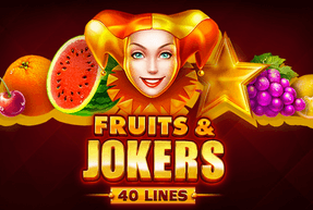Fruits & Jokers: 40 lines | Slot machines EuroGame